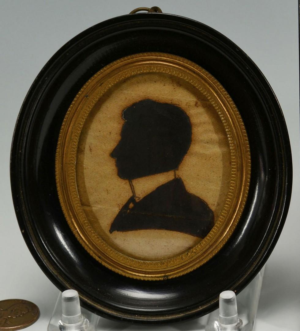 Lot 224: 2 Miniature Portraits of gentlemen