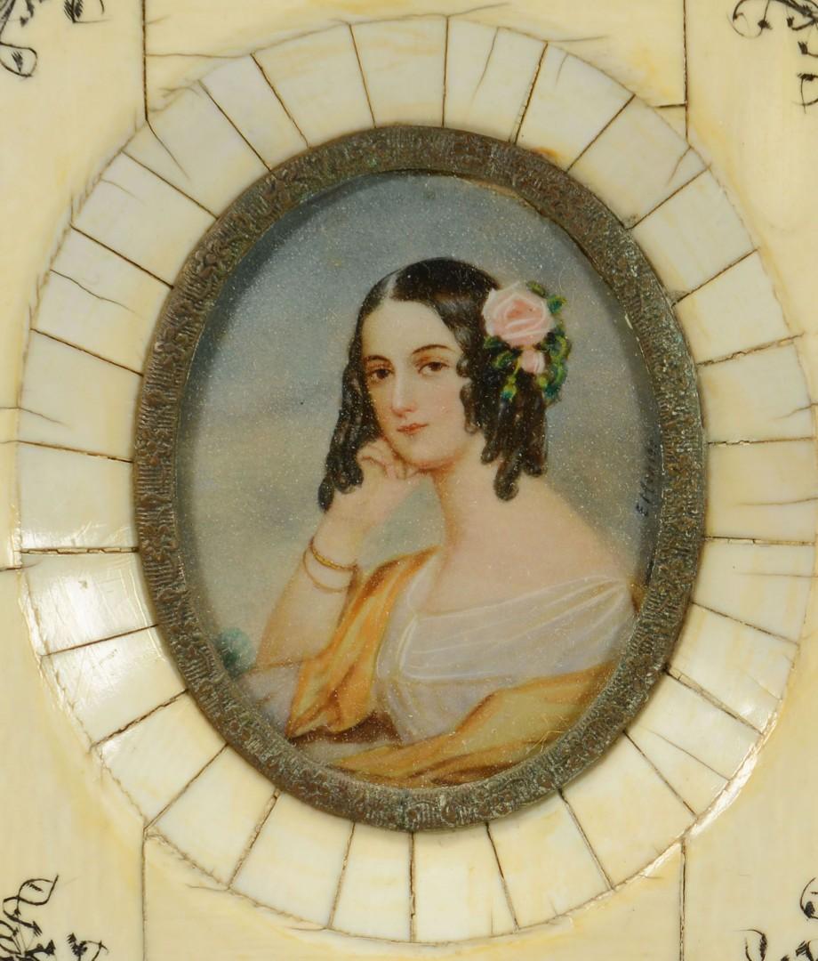 Pair of German Miniature Portraits