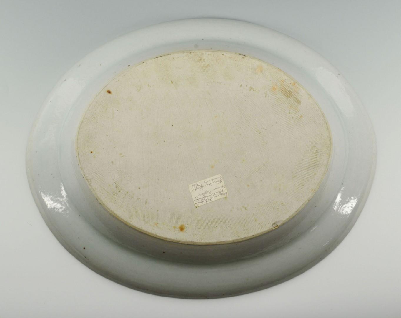 Lot 22: Chinese Export Green Fitzhugh Mazarine