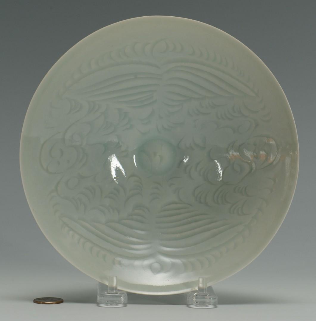 Chinese Celadon Eggshell Porcelain Bowl