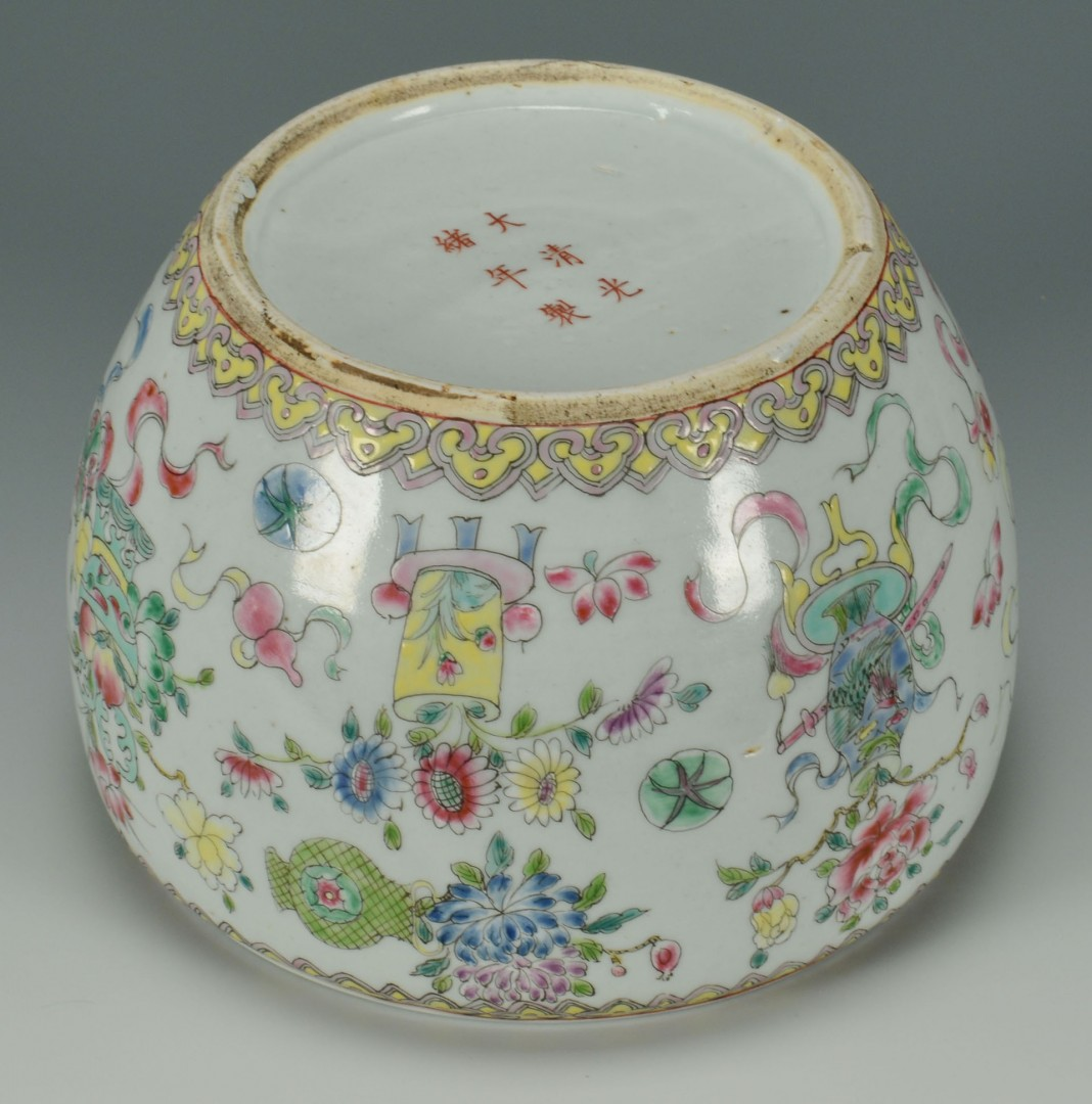 Chinese Porcelain Famille Rose Bowl