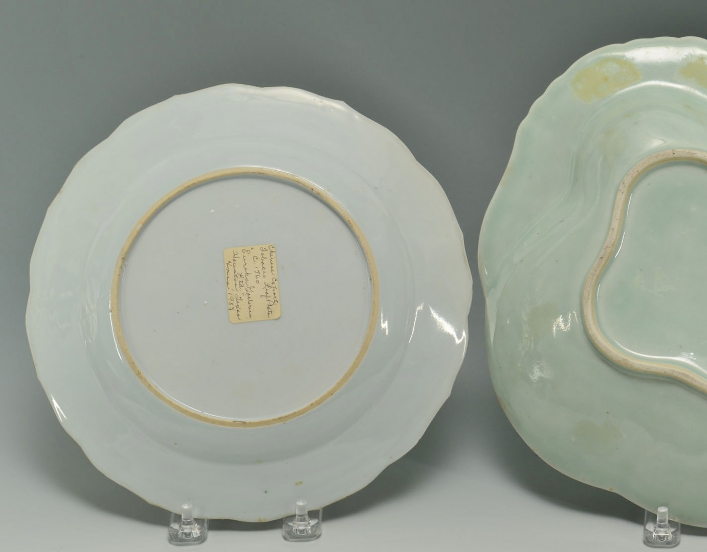 Grouping of 3 Chinese Porcelain Plates