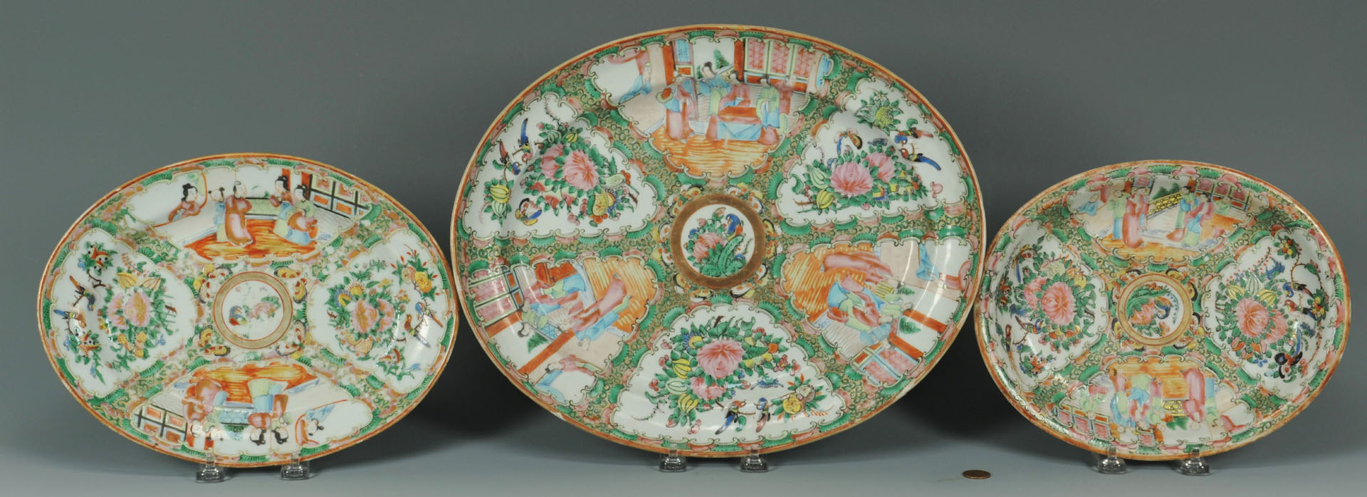 Lot 244: Chinese Rose Medallion, late 19th century