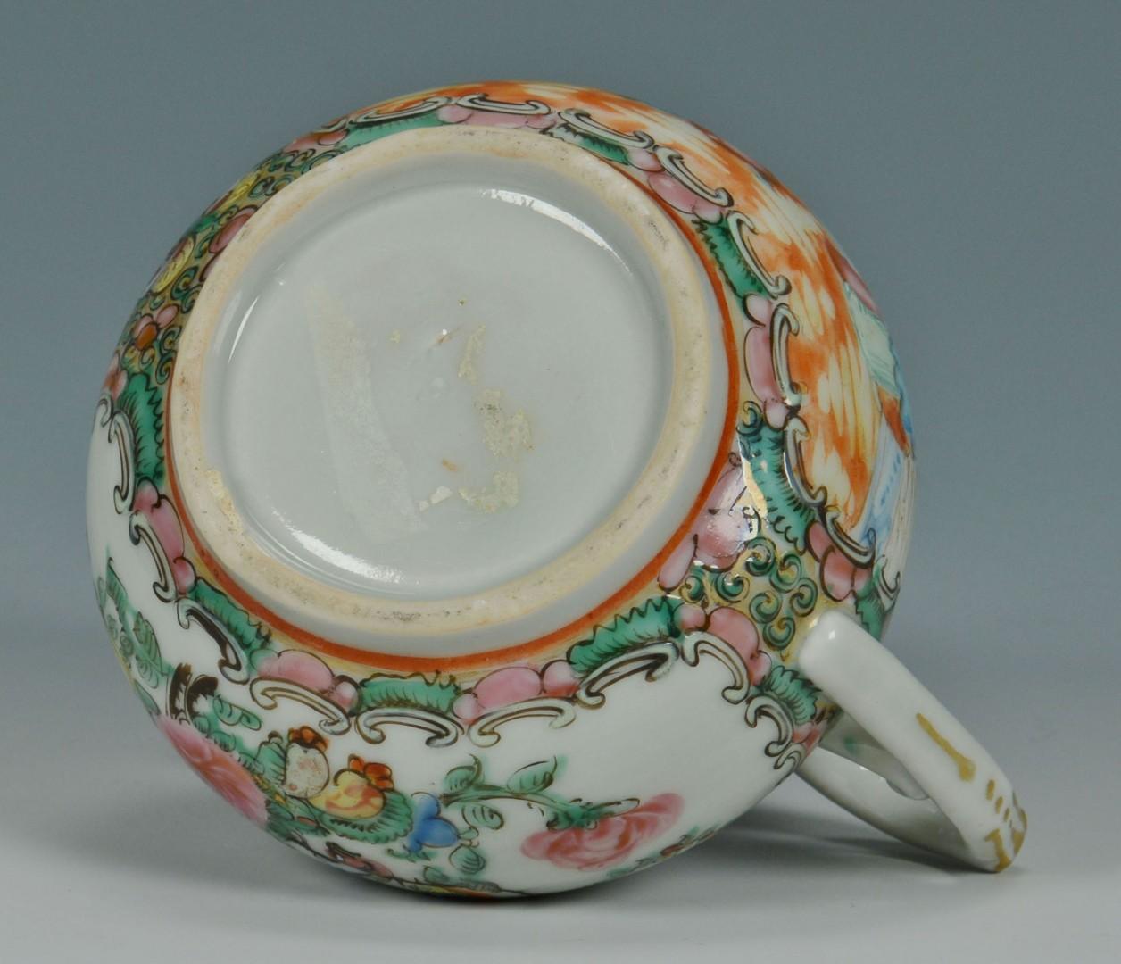 2 Chinese Rose Medallion Porcelain Items