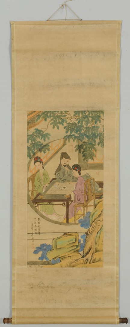 2 Chinese Scroll Paintings