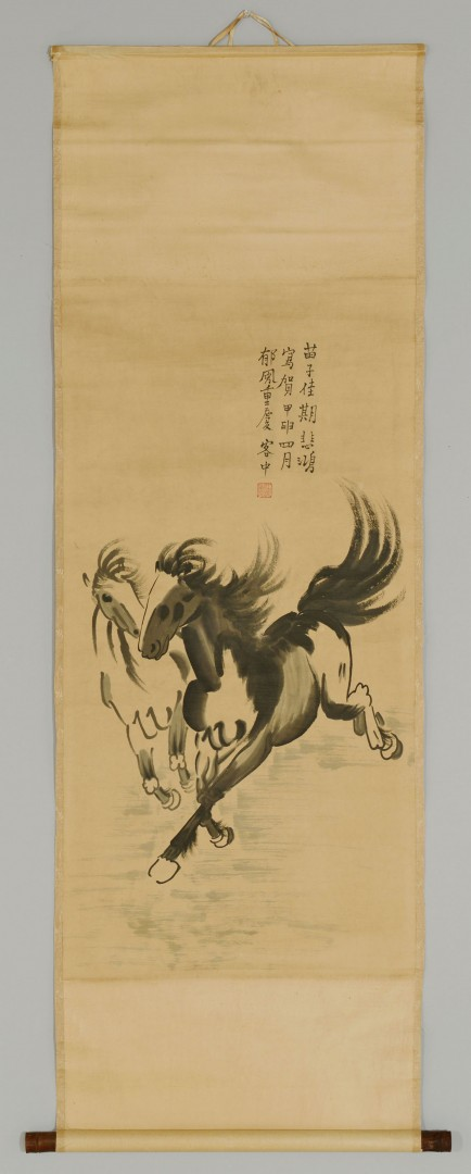 Chinese Scroll Painting, signed Xu Beihong
