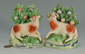 Lot 269: Staffordshire Ewe and Ram