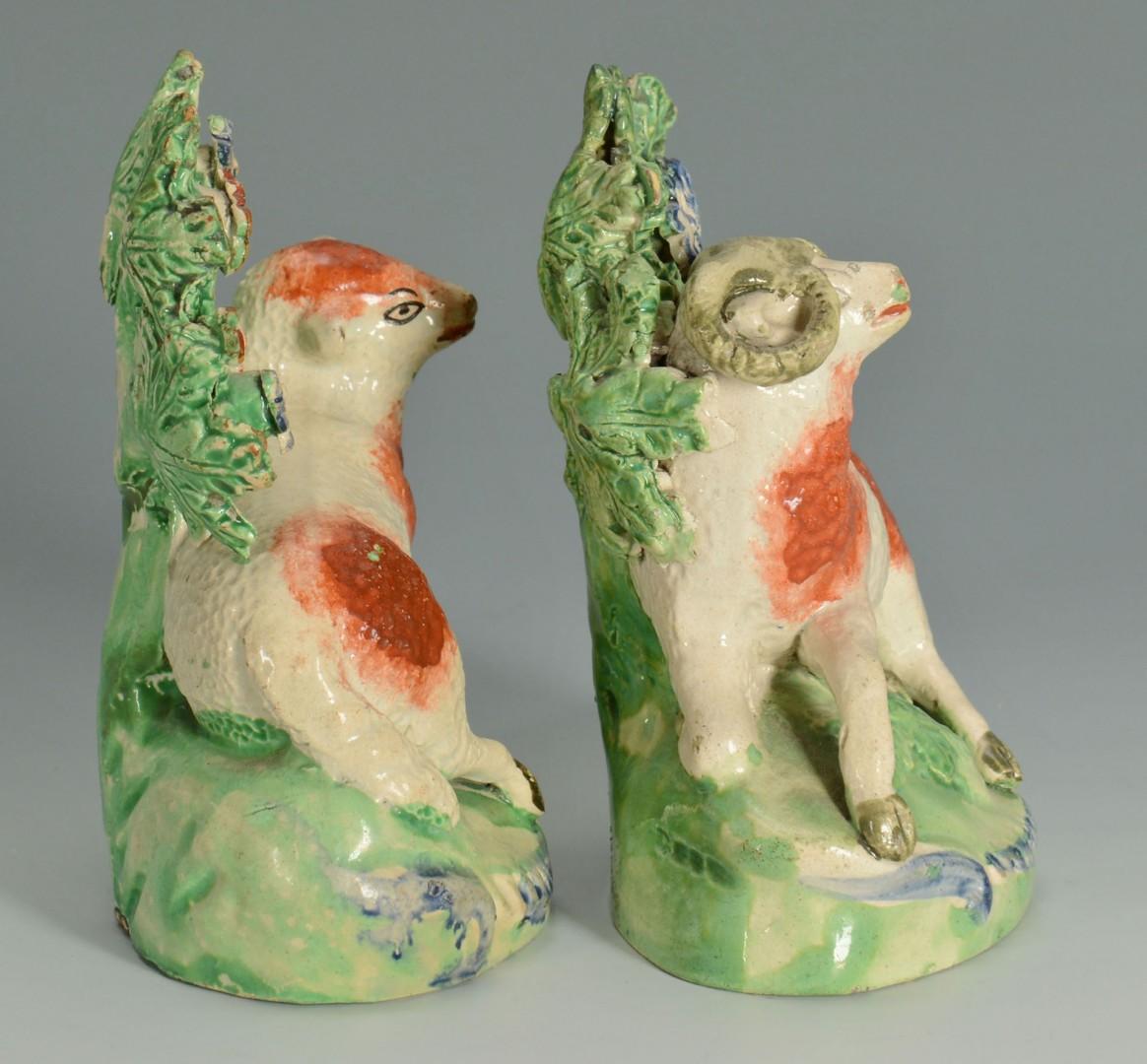 Lot 269: Staffordshire Ewe and Ram