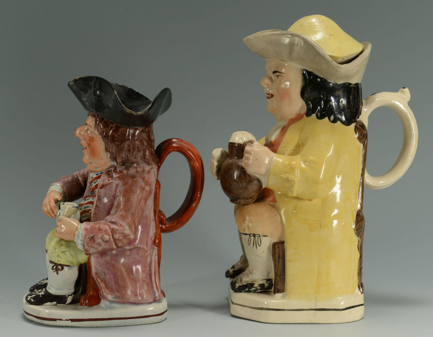 2 Early Toby Jugs including The Sinner