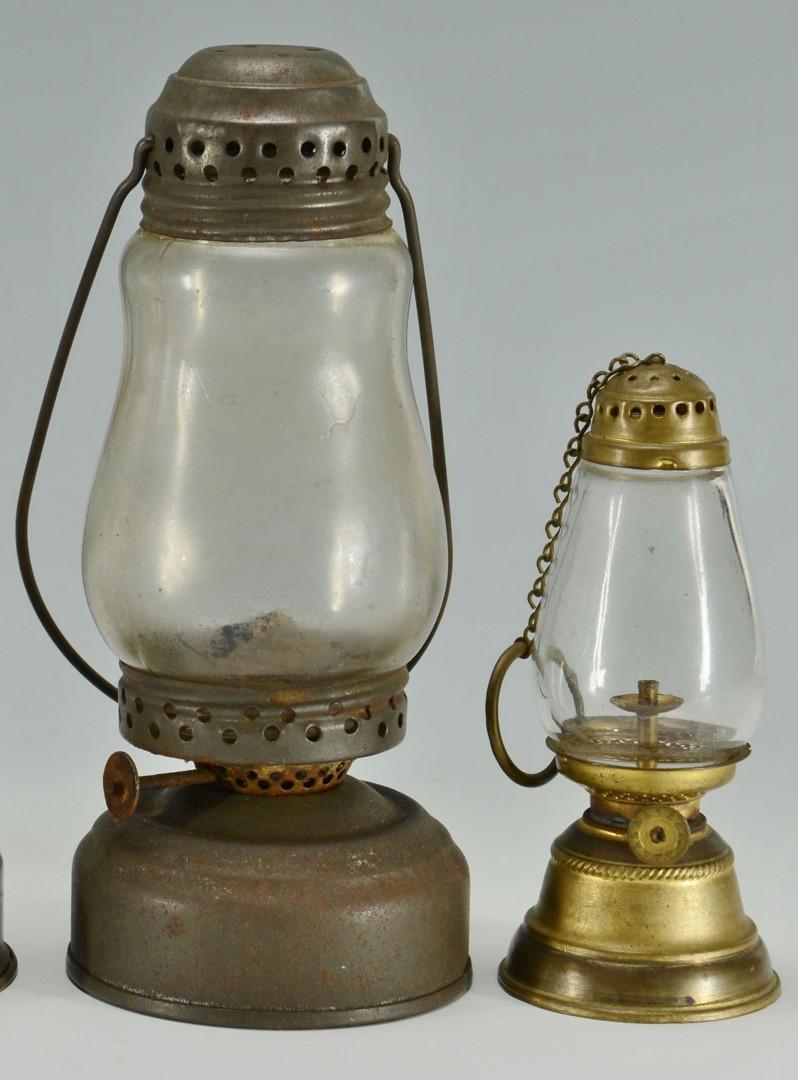 4 Skater's Lanterns Including Baby Lantern