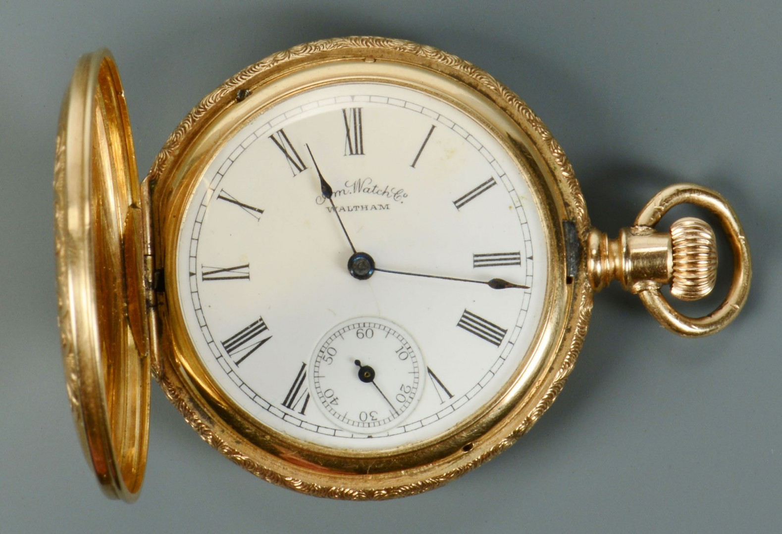 14k ladies Waltham pocket watch