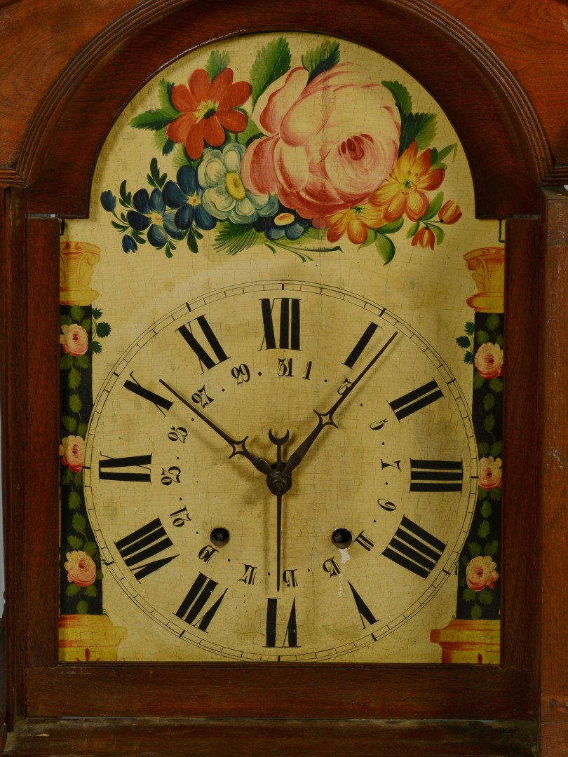 Tall Case Clock, Ohio or Kentucky