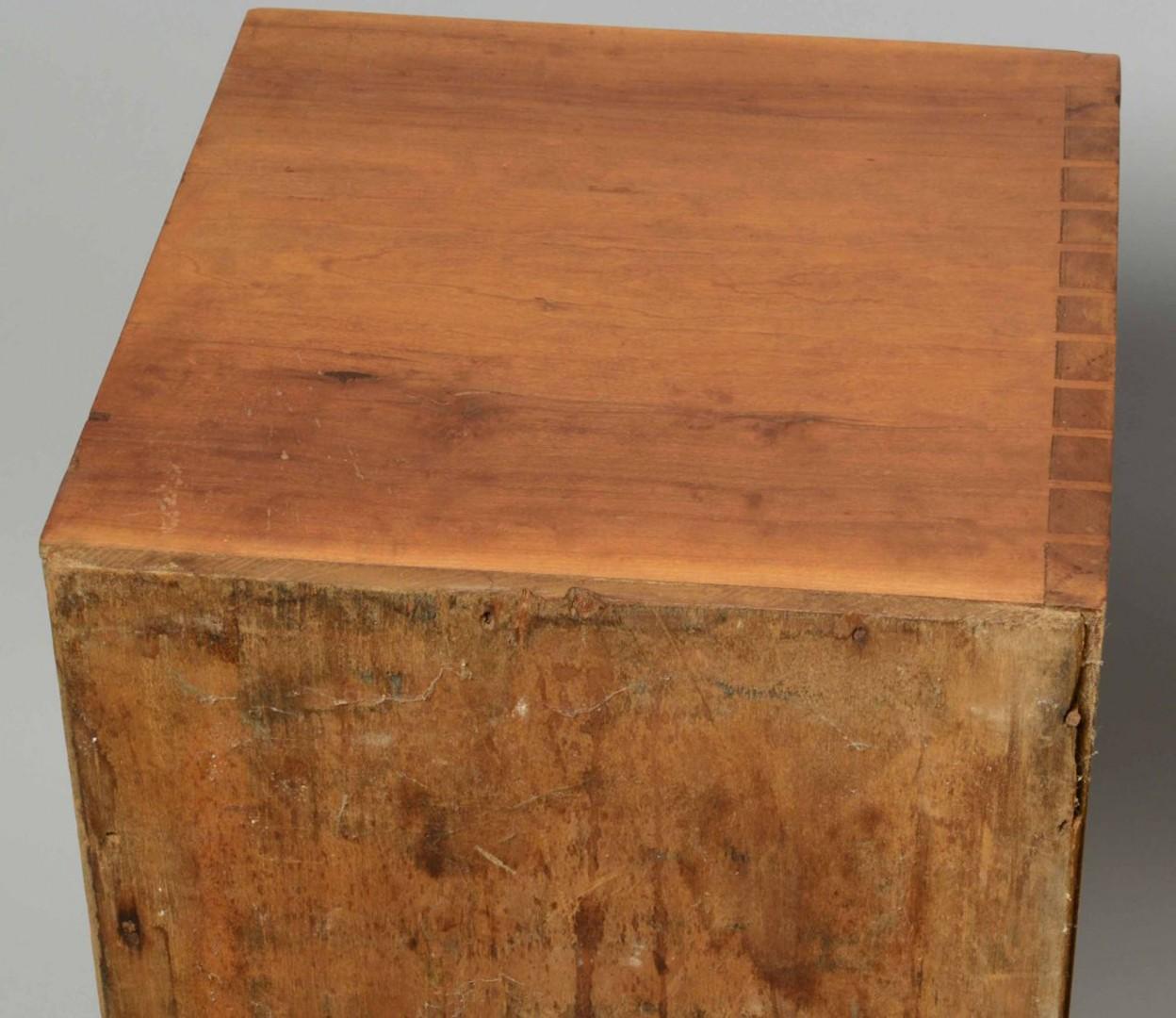Lot 333: Southern Sheraton Cherry Sugar chest