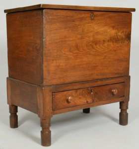 Lot 335: TN Walnut Sugar Chest