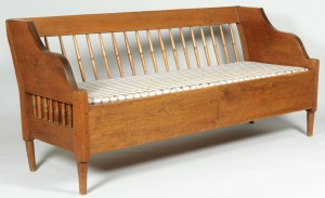 Lot 336: Wythe Co. VA Sofa, 19th c.