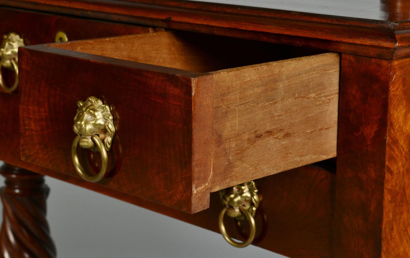 Classical Mahogany Dressing Table