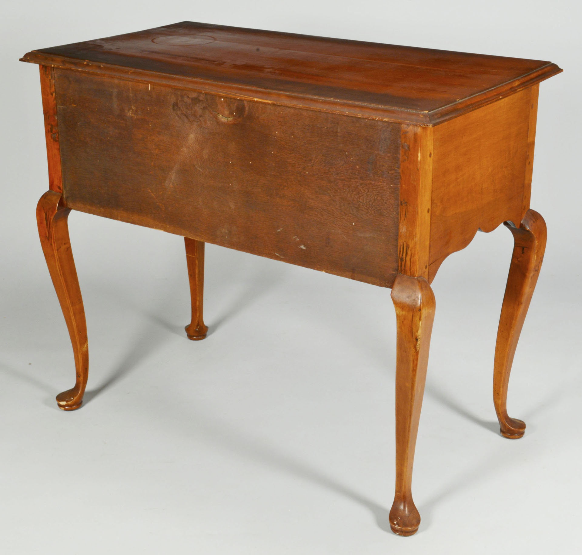 18th century cherry lowboy or dressing table