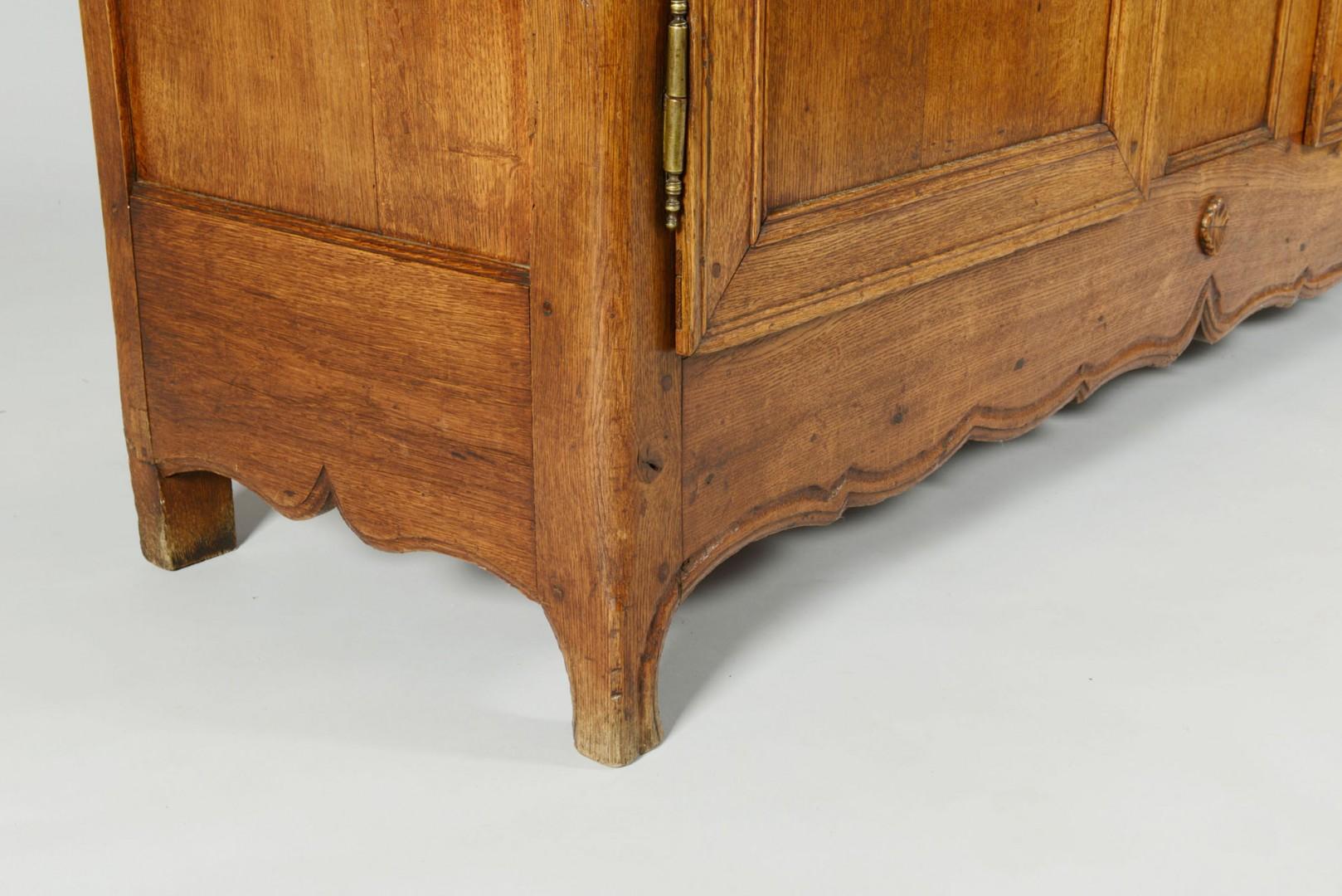 Louis XV French Provincial Oak Sideboard