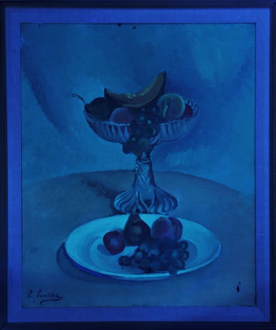 Lot 36: Sonia Lewitska Oil on Canvas Still Life