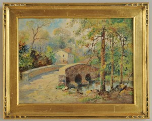 Lot 370: George A. Newman Pennsylvania Landscape