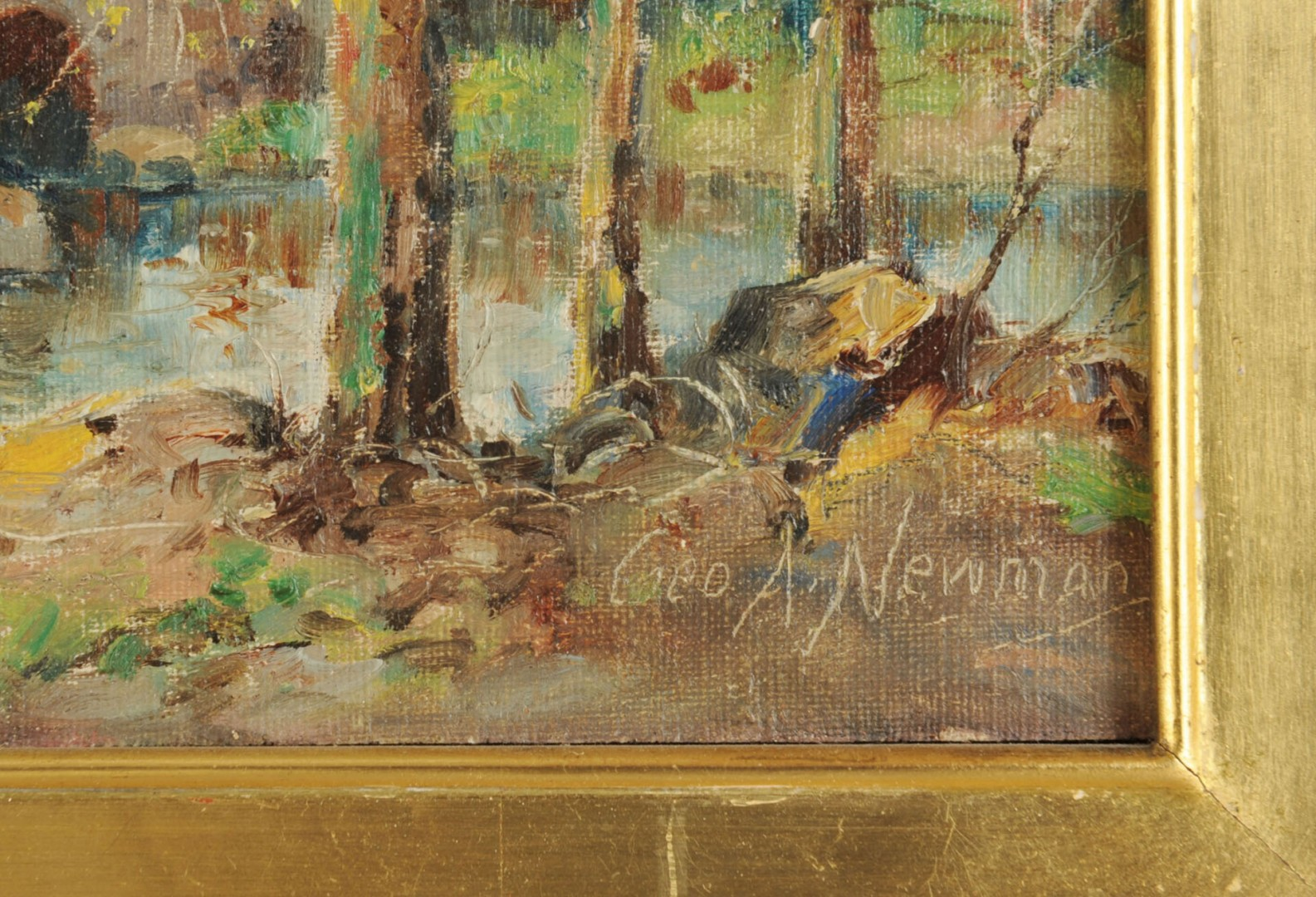 Lot 370: George A. Newman Pennsylvania Landscape