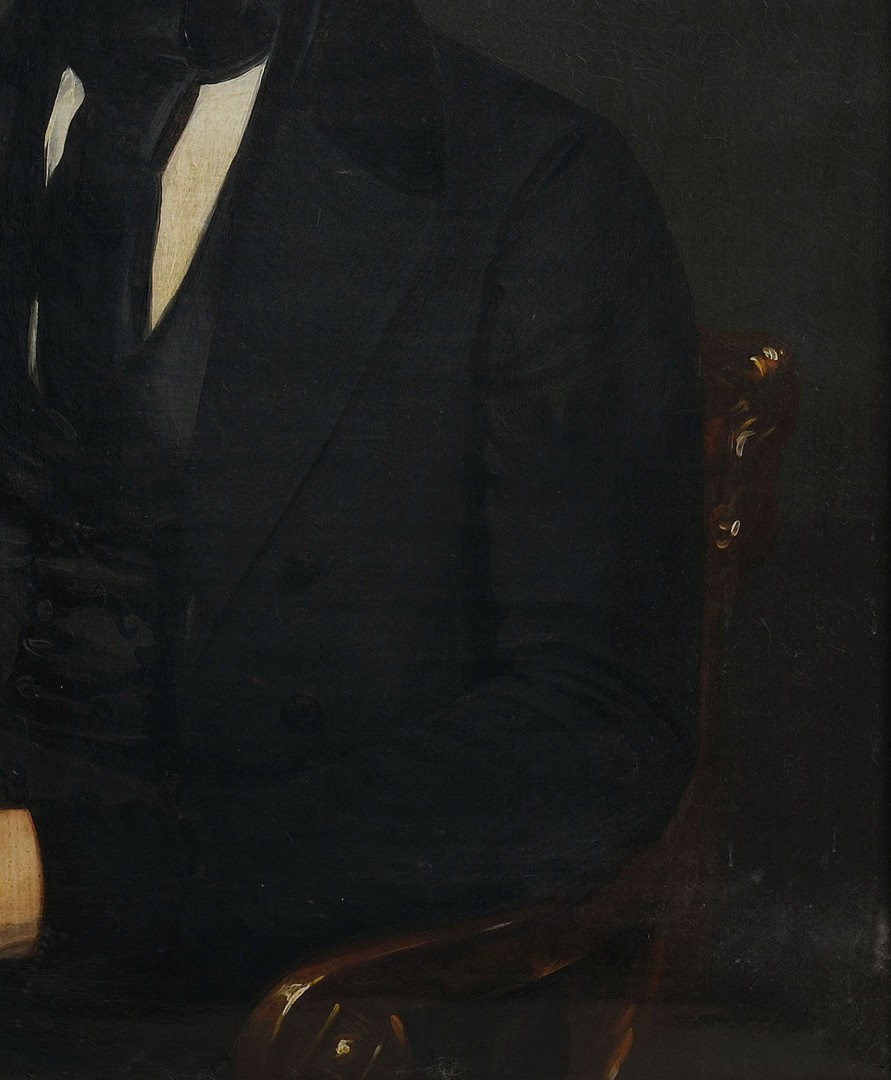 Lot 373: Henry Inman Portrait of James M. Bruen