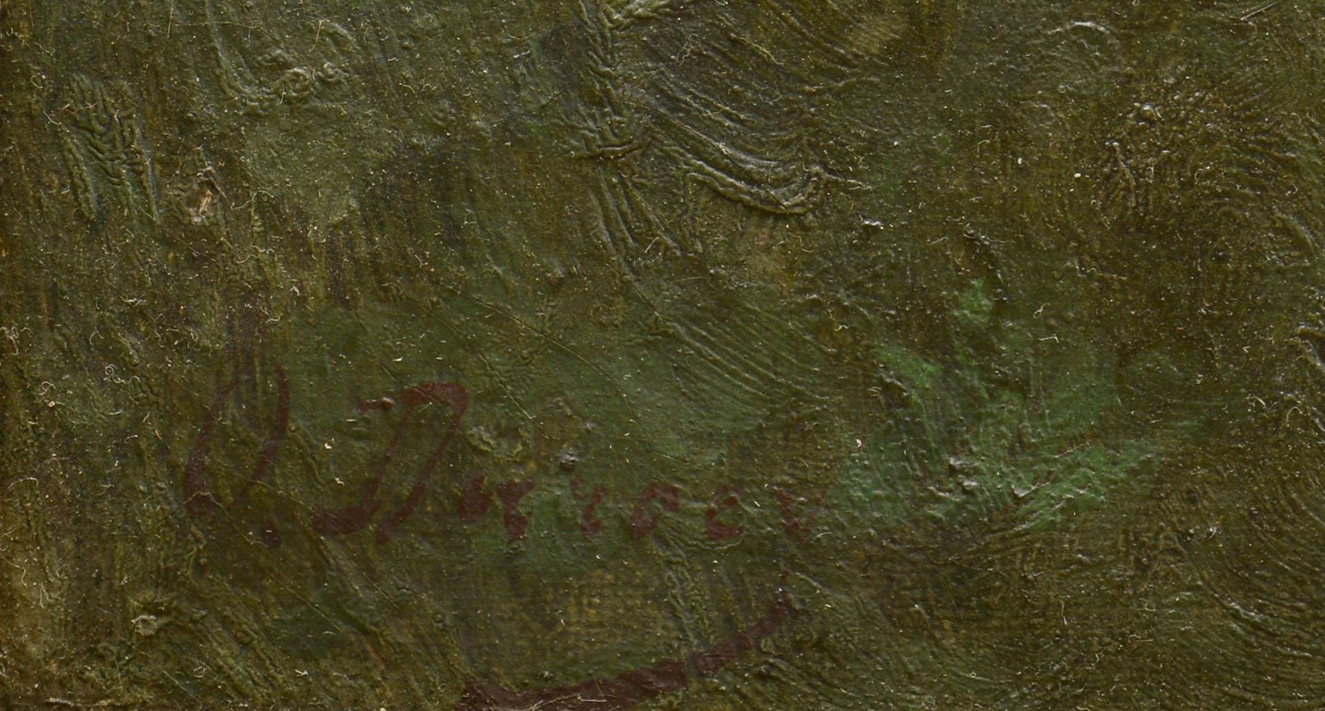 Lot 374: Oil on Canvas, Victorian Genre Scene