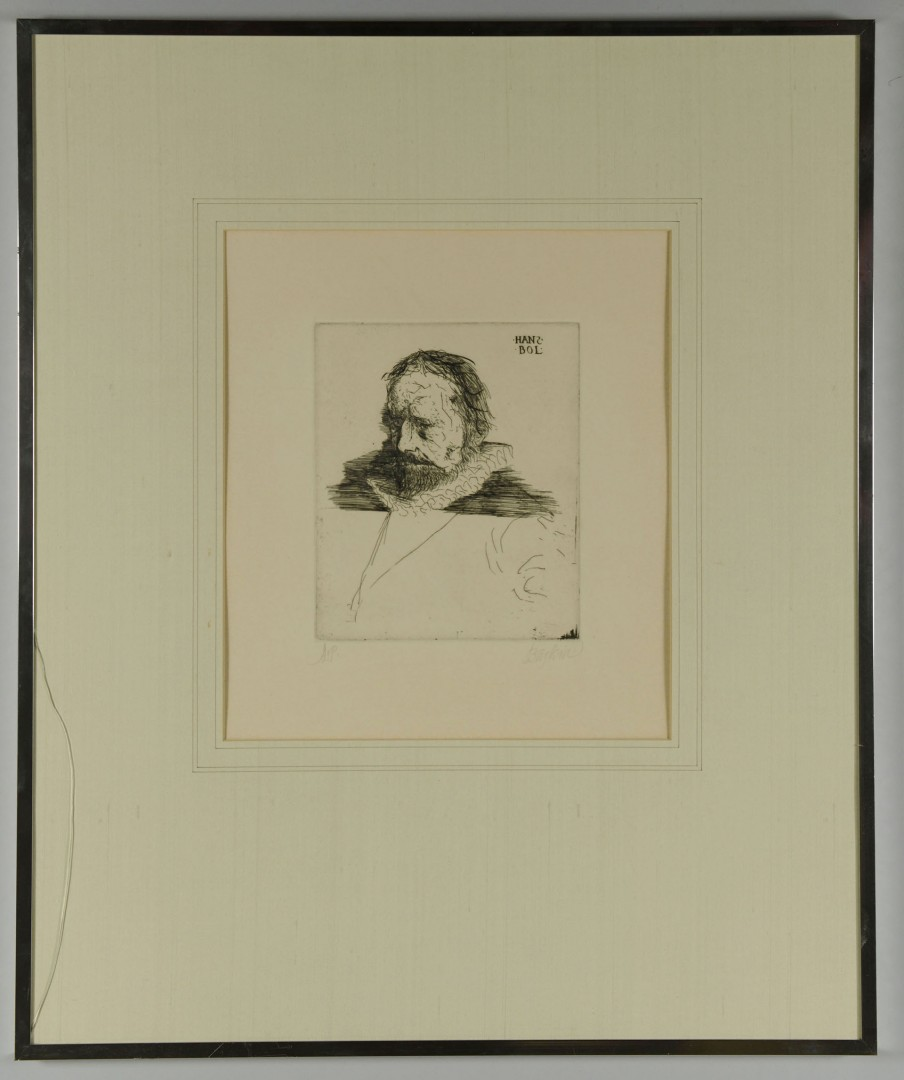 Lot 396: Picasso, Baskin and Dus Lithographs