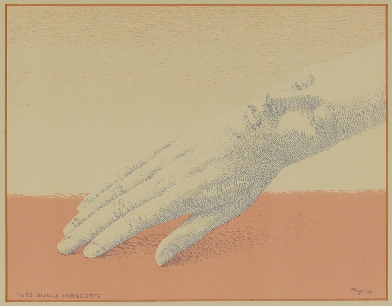 RenÈ Magritte Lithograph , Les Bijoux Indiscrets