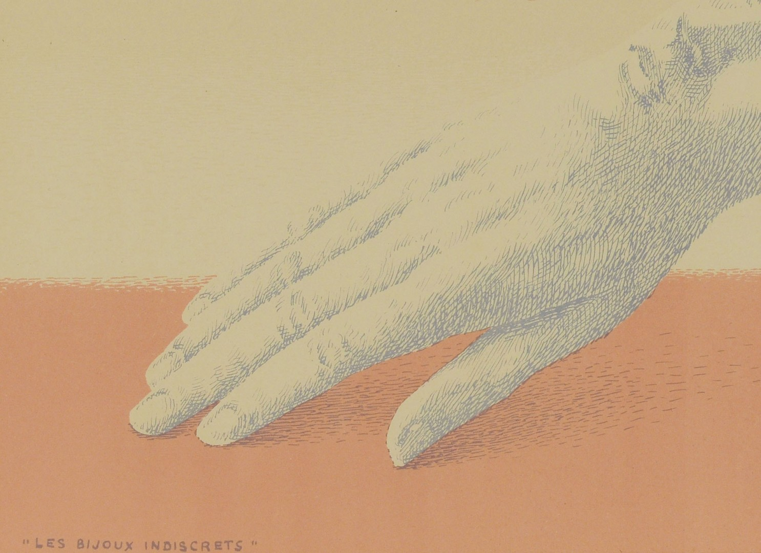 Lot 400: René Magritte Lithograph , Les Bijoux Indiscrets