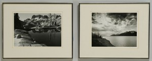 Lot 406: 2 Gelatin Silver Prints, Alan Ross & Philip Hyde