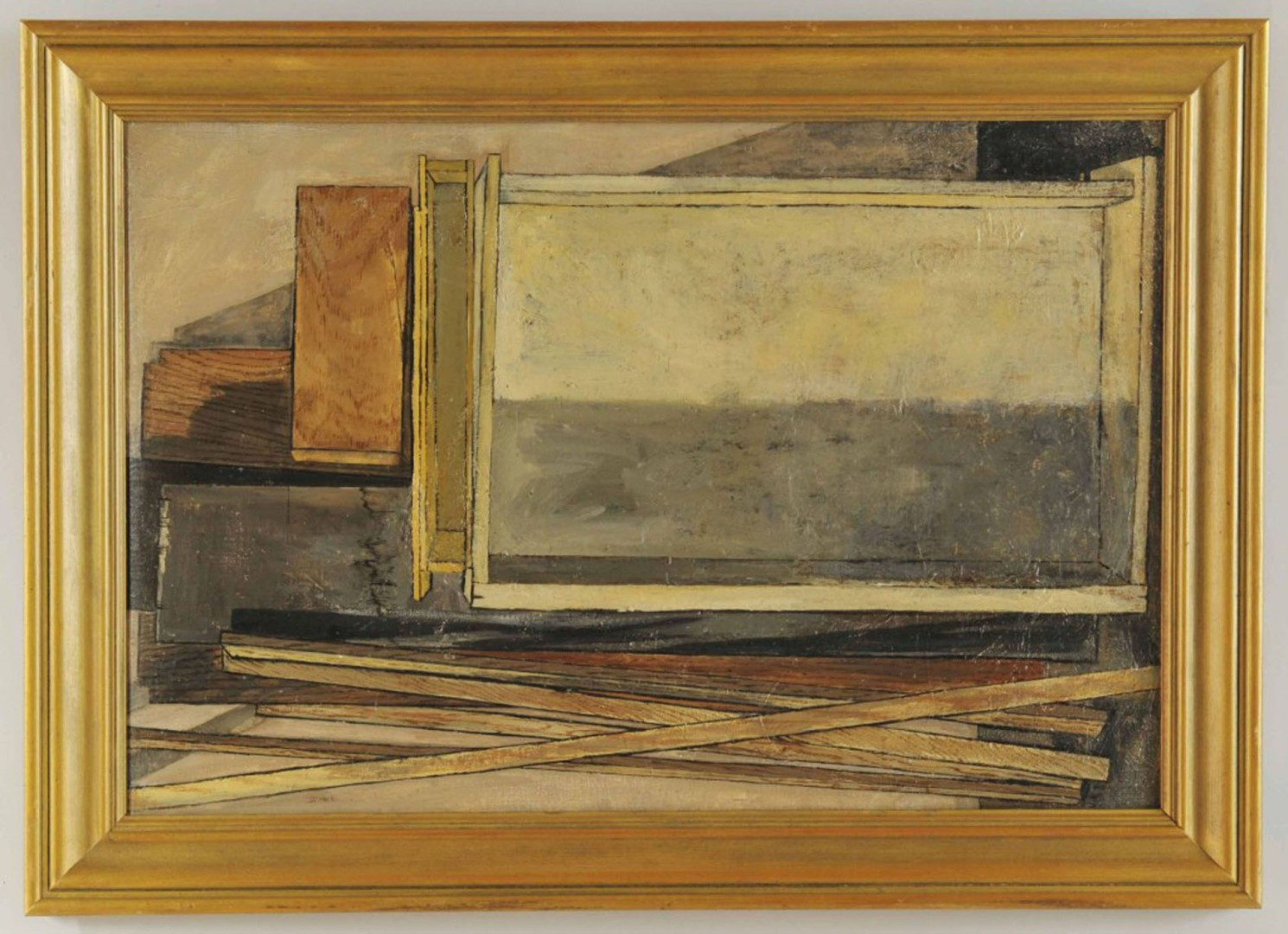 Lot 407: Contemporary Still Life, Oil on Canvas