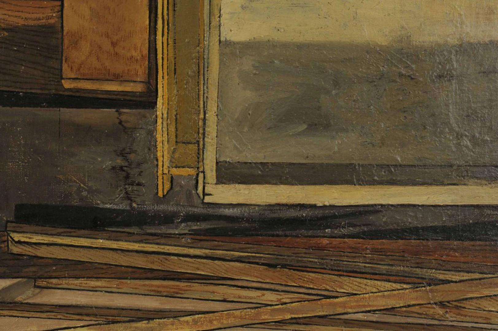 Lot 407: Contemporary Still Life, Oil on Canvas