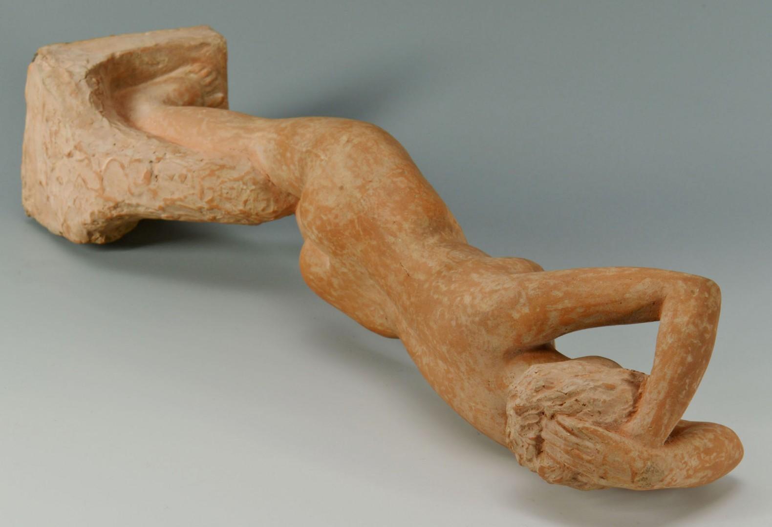 Lot 410: Milo Martin Terracota Nude Figure