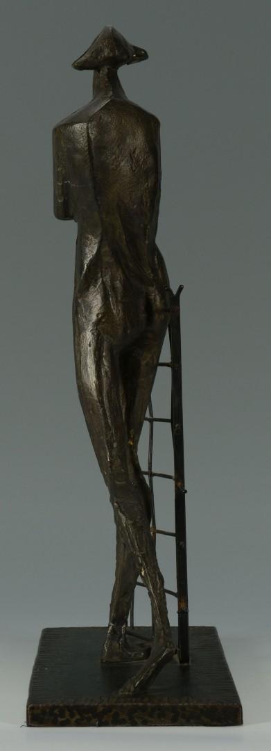 Rudolf Svoboda Abstract Bronze Sculpture
