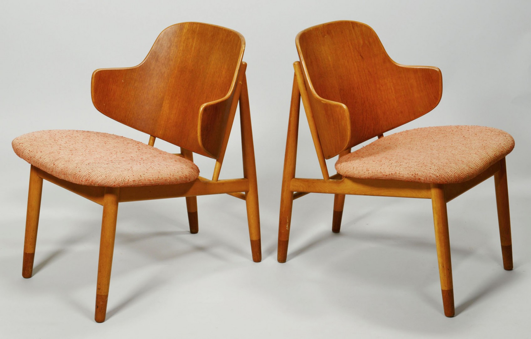 Set of 4 Danish Modern Rosewood Chairs