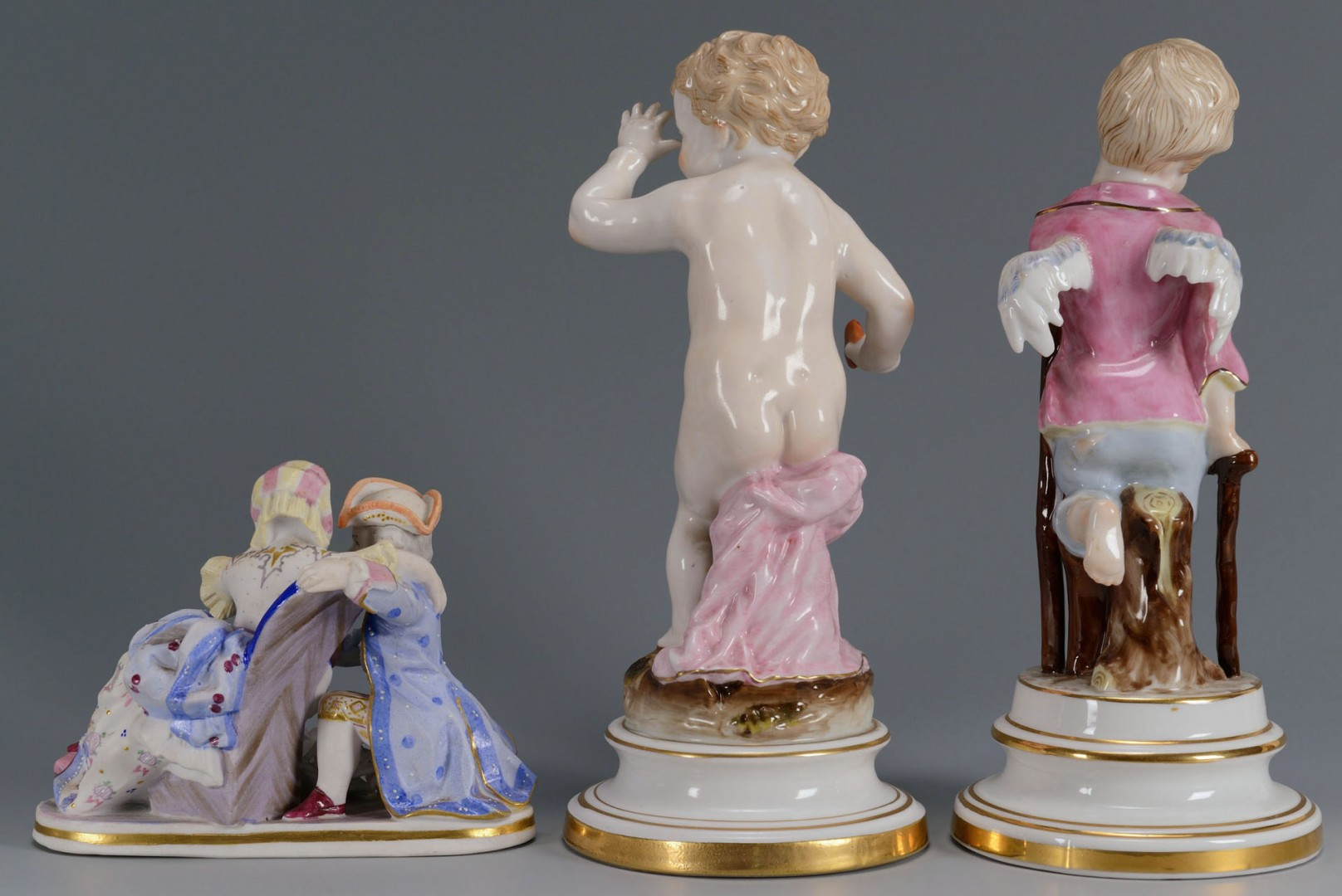 3 German Porcelain Figures