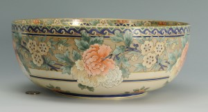 Lot 433: Willets Belleek Bowl