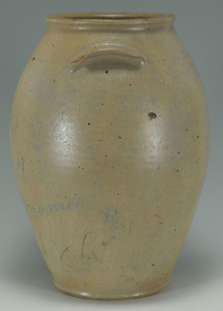 Lot 448: 3 Gal. Stoneware Pottery Jar, poss. Kentucky