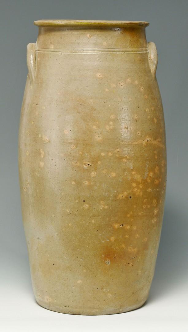 Large Cobalt Stoneware Jar, poss. Southern
