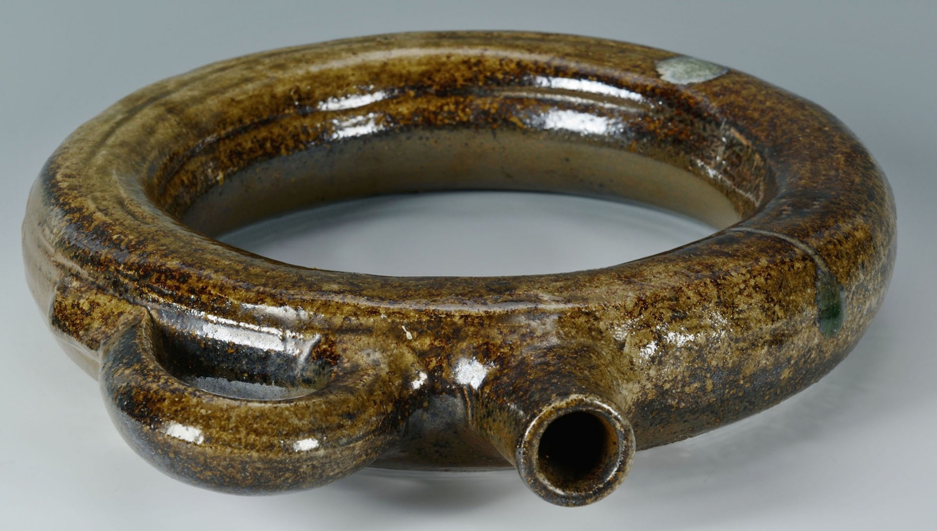 Lot 450: Alabama Stoneware Pottery Ring Jug