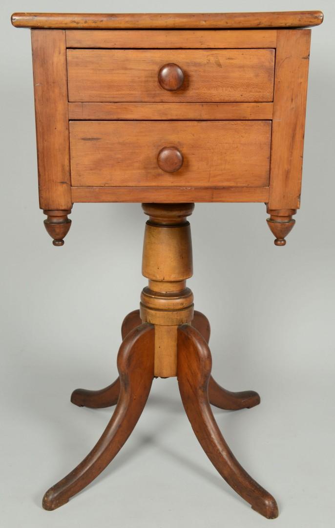 Southern Sheraton Cherry Sewing Stand