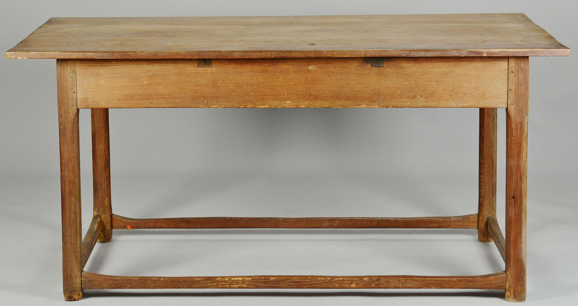 Yellow Pine Stretcher Base Table, SC