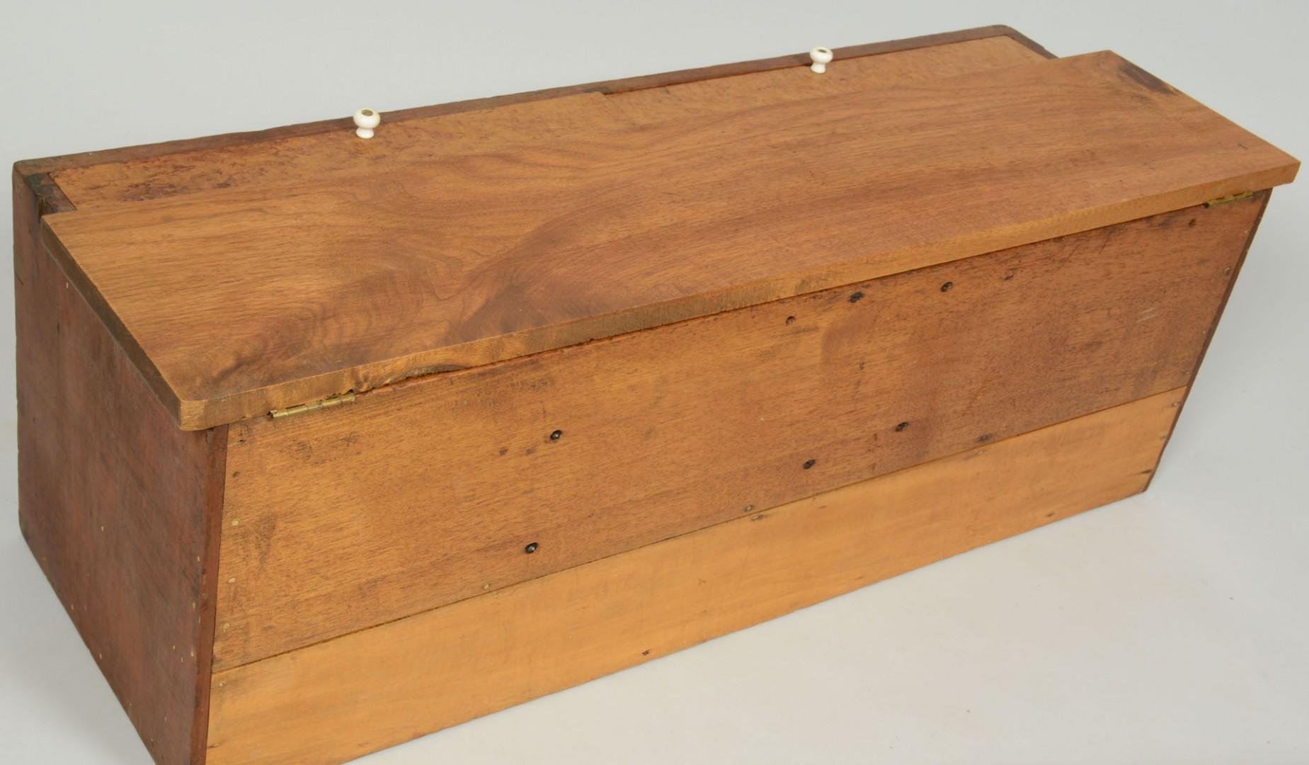 Lot 472: Birds Eye Maple Toolbox