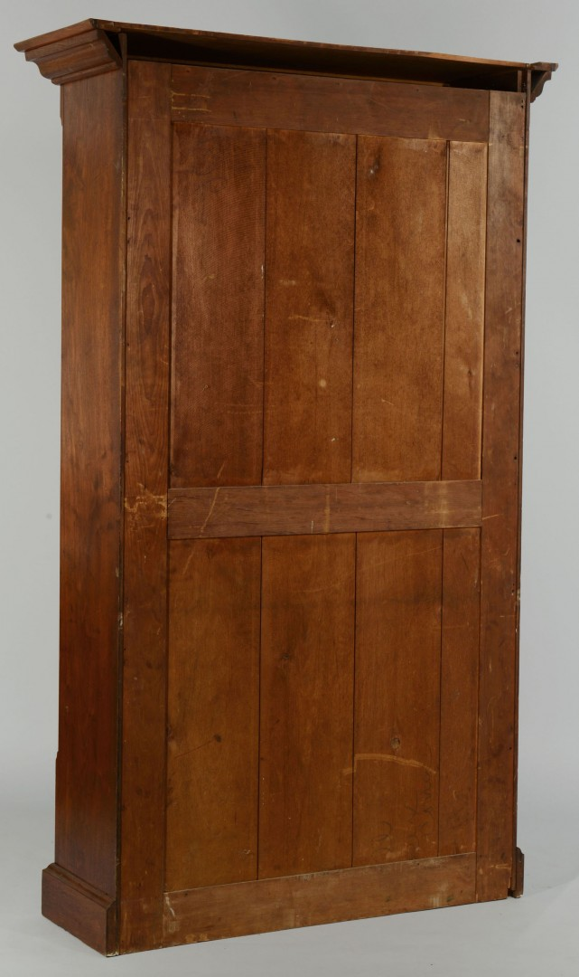 Lot 474: Victorian Mahogany and Glass Bookcase