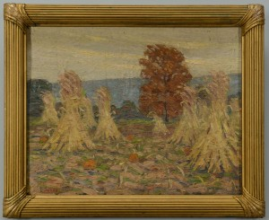 Lot 47: Early Louis E. Jones Fall Landscape