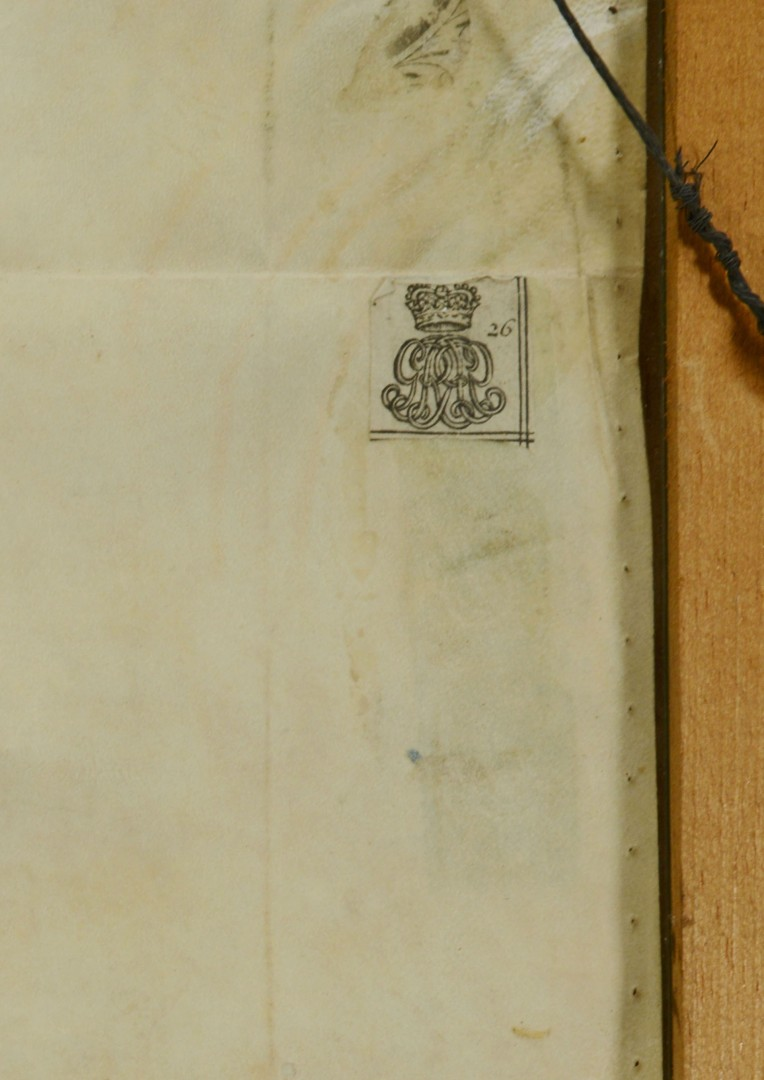 Lot 487: 18th Cent. English Indentured Servent Document