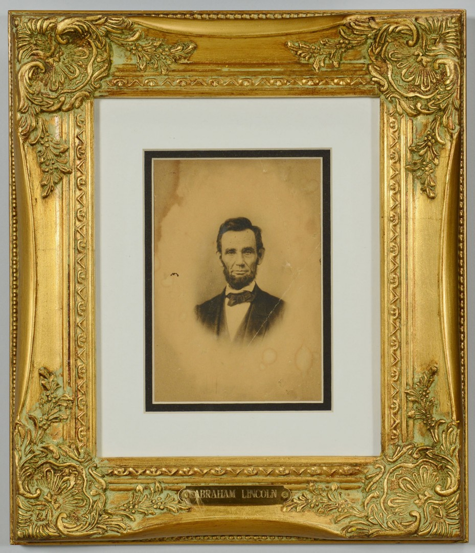 Lot 503: Grouping of 4 Abraham Lincoln Images