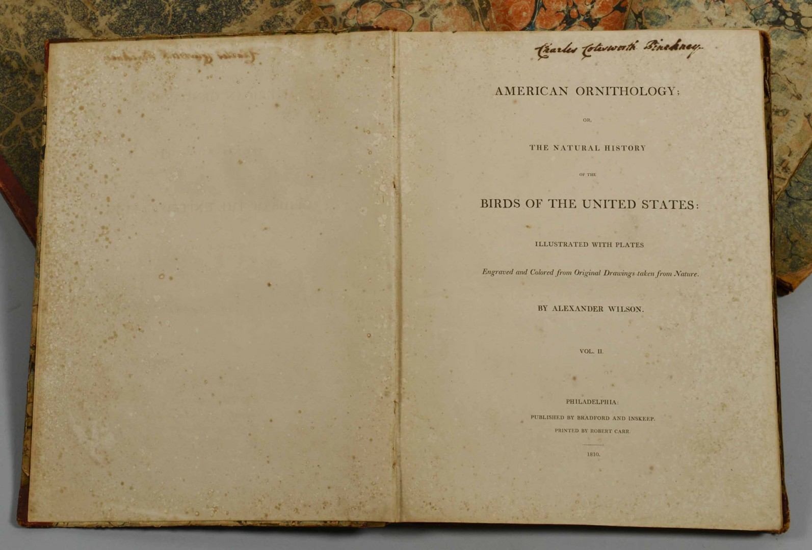 Lot 504: Wilson's American Ornithology, 6 vols., Pinckney s