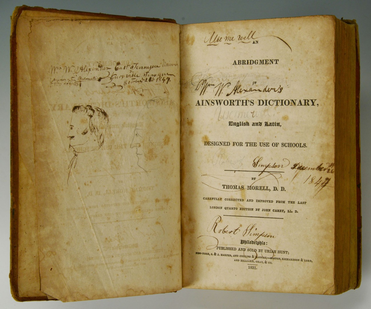 Lot 505: Six 19th Cent. Books with East TN History